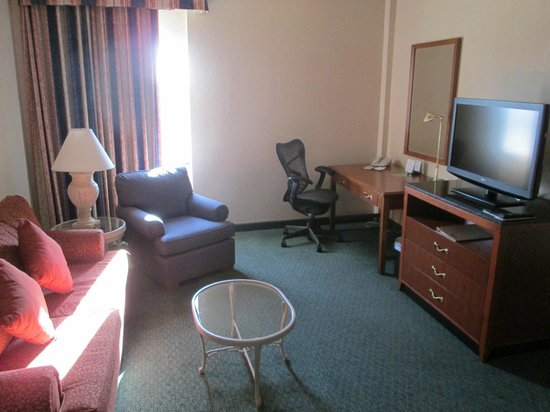 Hilton Garden Inn Phoenix Midtown: Living Room of the Suite