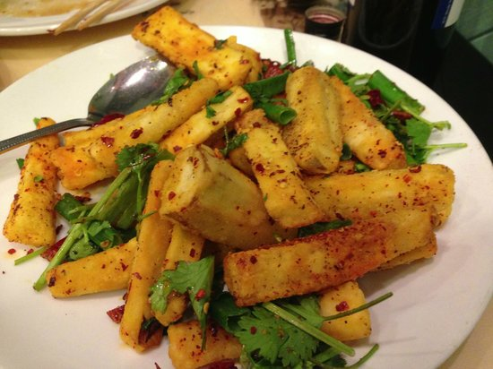 Peter Chang's China Grill: Spicy Eggplant