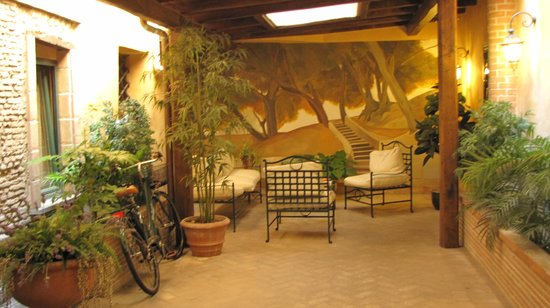 Residenza Santa Maria : Cortile interno