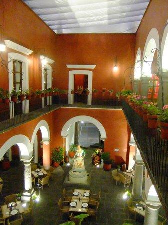 Casona de la China Poblana : Courtyard