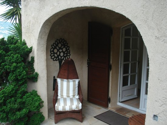Le Mas Samarcande : Private entryway to our room