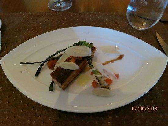 Charlie Palmer at Bloomingdale's: Slow  Braised Crisp Pork Belly