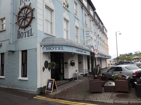 The Bantry Bay: Front door entrance into hotel bar