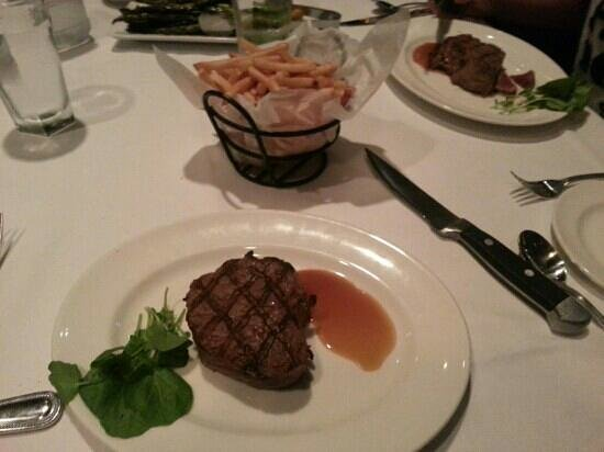 The Capital Grille: filetto