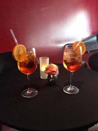 Hotel Q!: Our welcome drinks