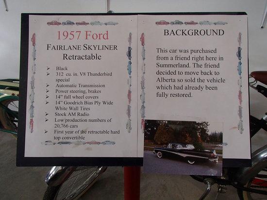 Nixdorf Classic Cars: Signage