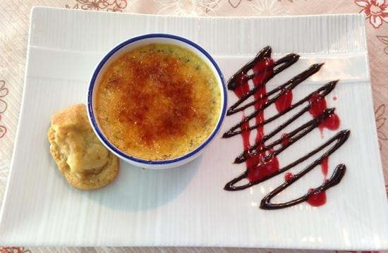 Restaurant Le Saint-Patrice: Creme Brule