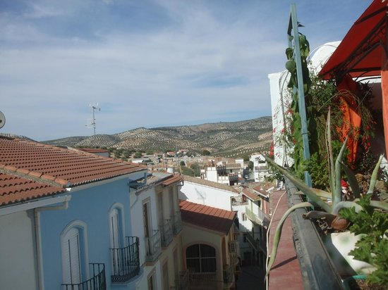 Casa Bob : View from top terrace...