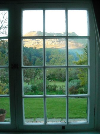 Wildekrans Country House: View out the Garden View room