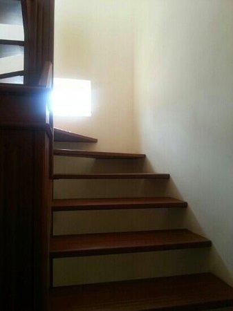 Jet Resort : the duplex staircase