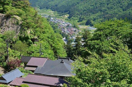 Risshaku-ji Temple: 奥の院からの景色