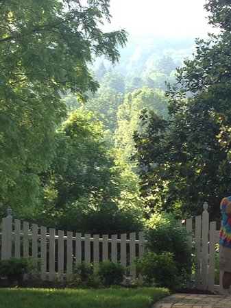Oak Hill on Love Lane Bed & Breakfast: peaceful view of the mountain