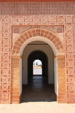 Menara Gardens and Pavilion: Door leading into pavilion