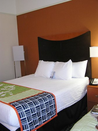 Fairfield Inn & Suites Weirton : Nice Updated Decor in Room