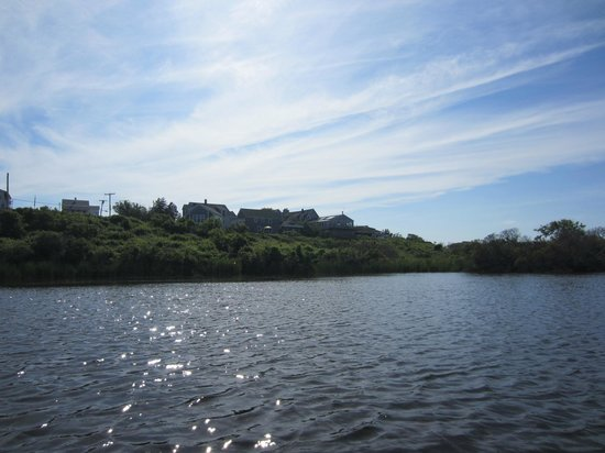 Sea Breeze: view from the ponds to the inn