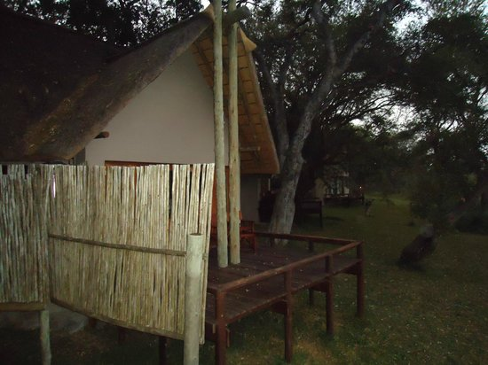 Simbavati River Lodge: Picture of our chalet