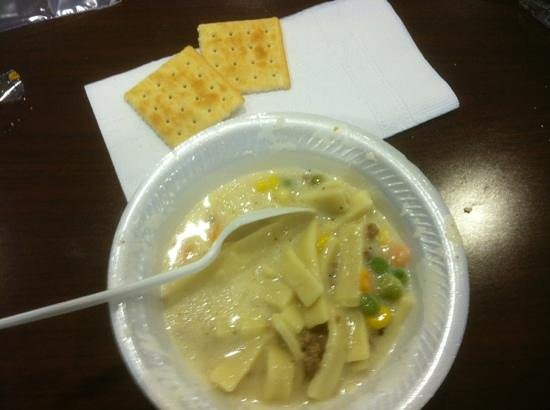 Sleep Inn & Suites and Indoor Water Park : Fresh & free homemade soup for guests from 6 pm till gone!