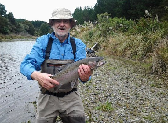 Tongariro Lodge: Rainbow trout