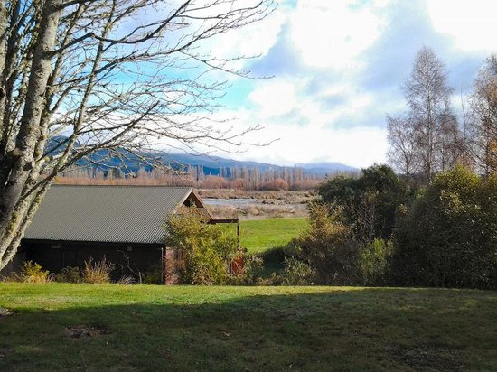 Tongariro Lodge: View from Chalet 10