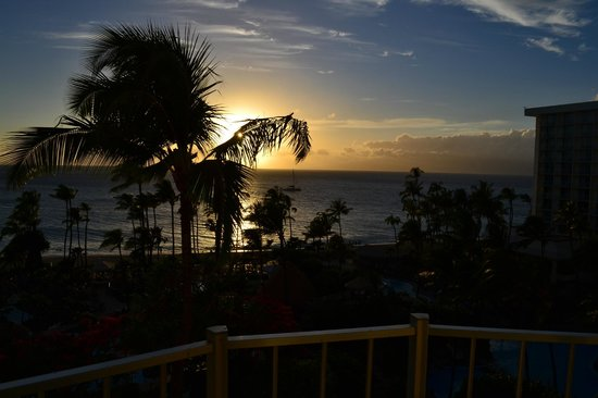 Westin Maui Resort And Spa : View from our room - room no. 829