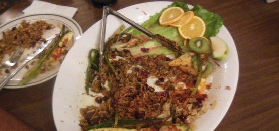 Tobermory Resort, Inn & Suites : Dinner Platter