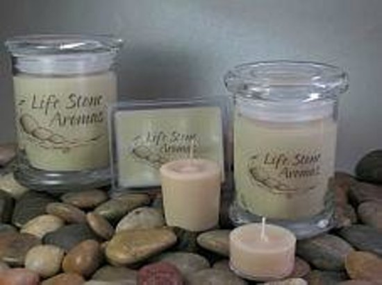 Candle-licious Factory and Store: Life Stone Aromas