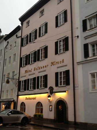 Hotel Goldener Hirsch, a Luxury Collection Hotel, Salzburg : Lovely even in the rain