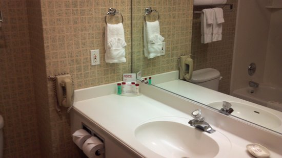 Ramada Olympia: bathroom
