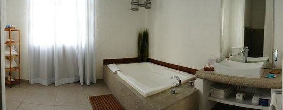 Descansería Hotel Business and Pleasure : a room(1 bad) with bathtub