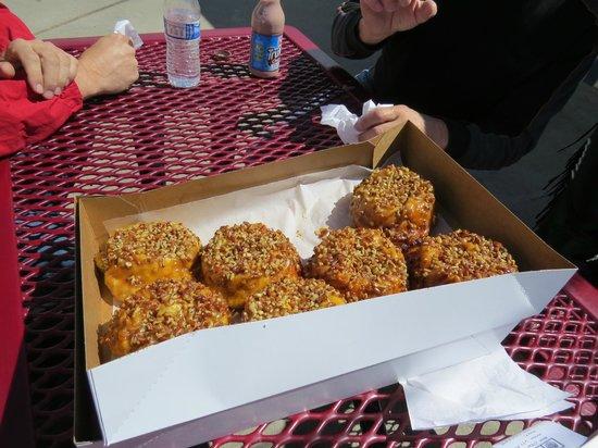 Donut Haus: Sticky buns!  YUM YUM