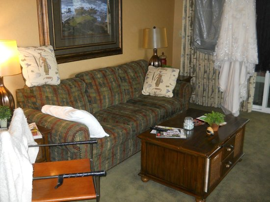 Stoney Creek Hotel and Conference Center - Des Moines: Living area in suite