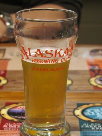 Alaskan Brewery and Bottling Company: After a few swallows of beer