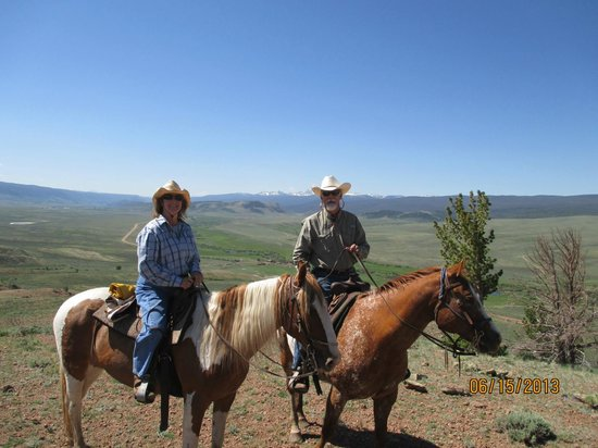 Laramie River Dude Ranch: High on Crazy Mountain