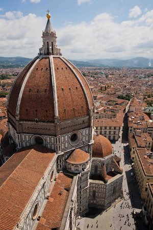 B & B Cimatori: view of the Duomo from the Campanile