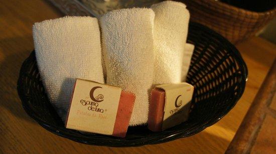 Casa de Las Bugambilias B&B: free hand made soap provided