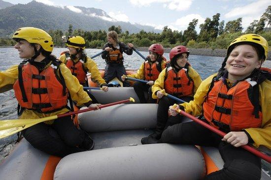 Pumalin Park: Rafting on the Petrohue