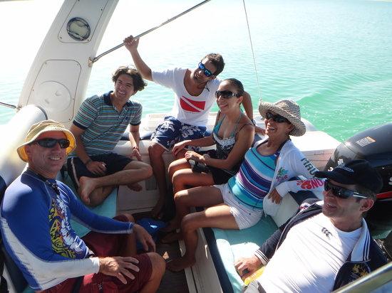 Holbox Hotel Mawimbi: Mawimbi's boat for whale shark tour
