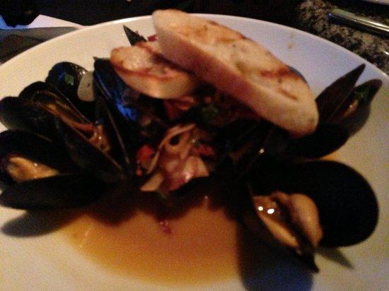 Postrio : PEI mussels