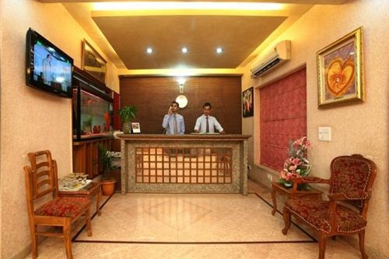Indira International Hotel: Reception
