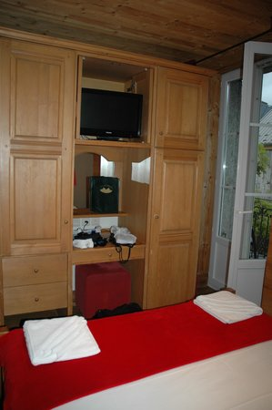Hotel Les Cretes Blanches: Ample storage space