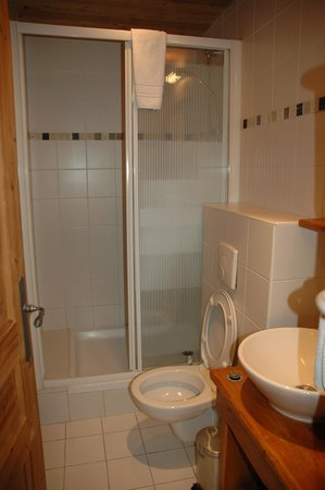 Hotel Les Cretes Blanches: Nice bathroom