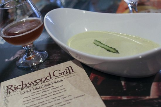 Richwood Grill: Global Beer Pairing