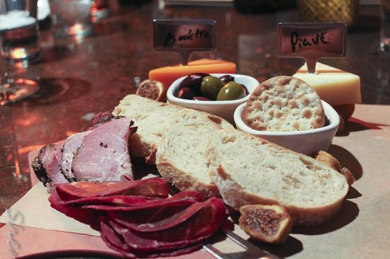 The Wine Bar At Vintner Valley: Cheese & Meat Plate