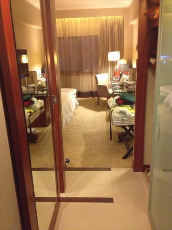 Grand Noble Hotel: from the room door