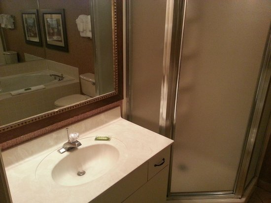 Parkway International Resort: Master Bathroom
