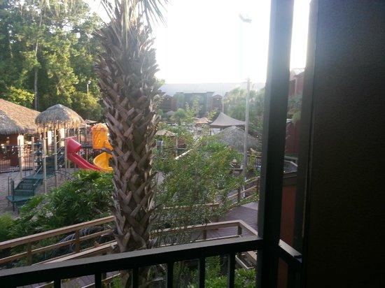 Parkway International Resort: Screened-in porch View of Pool