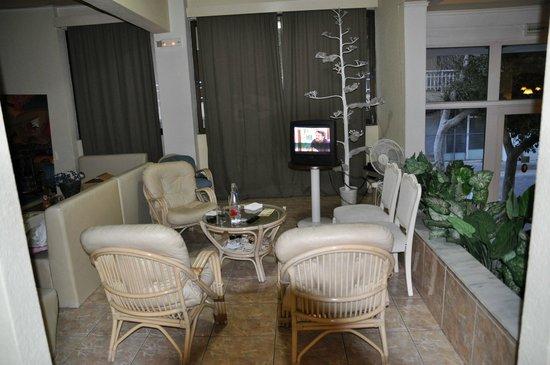 Hotel Marko : Уютное местечко для отдыха и ожидания