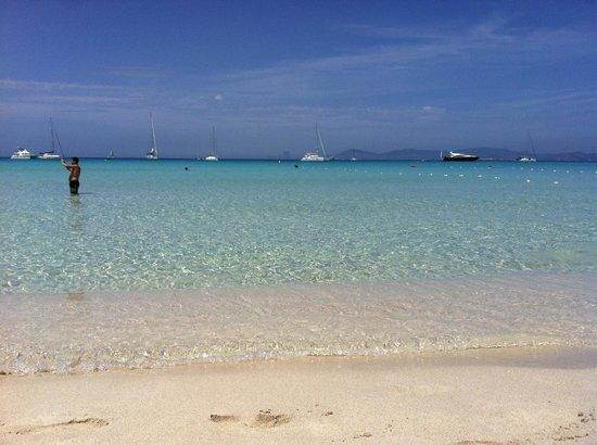 Playa de Ses Illetes: heaven