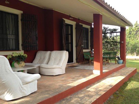 Bed and breakfast VillaFranca: Patio
