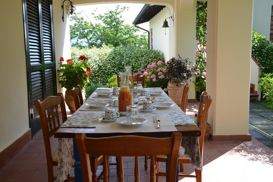 Breakfast at Casa Del Pino